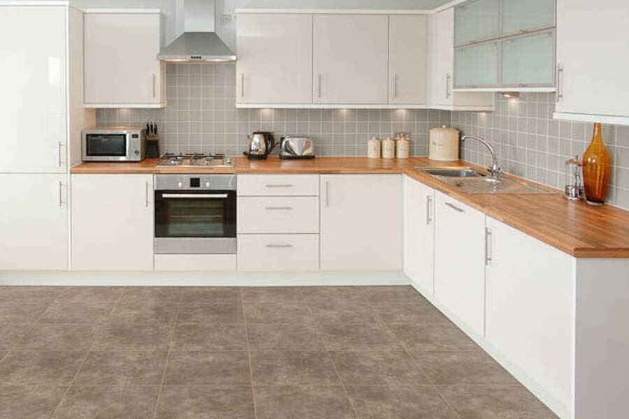 Vinyl floors for kitchen near Weldon, CA at Isabella Flooring