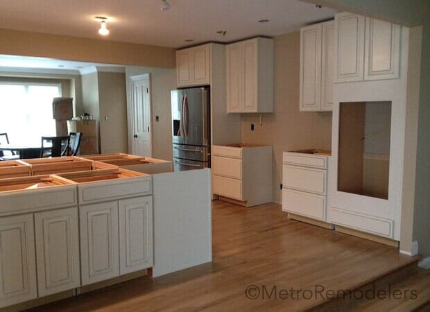 Process Choosing the right cabinets
