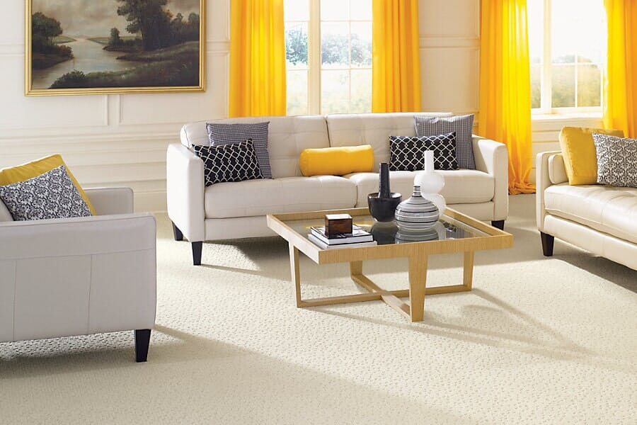 Carpet for living room near Springfield, VA at Metro Floors & Remodelers