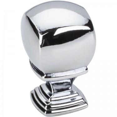 Katharine Cabinet Knob Polished Chrome