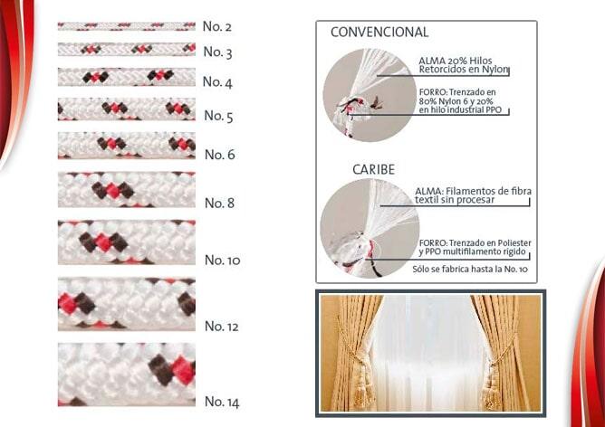 CORDEX S.A.S - Cuerda Matizada Convencional