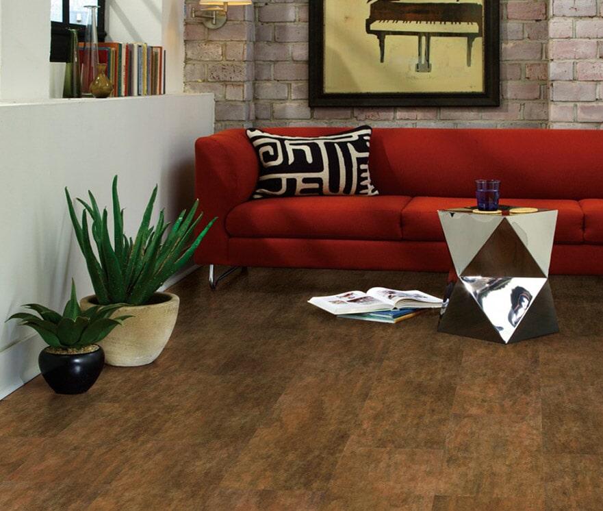 COREtec Plus Tiles - Aged Copper