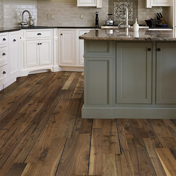Hardwood floors for kitchen near Mystic, CT