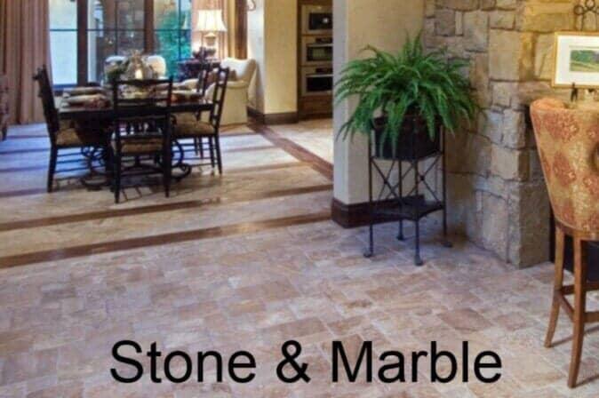 Stone & Marble Flooring from DeSitter Flooring near Wheaton, IL