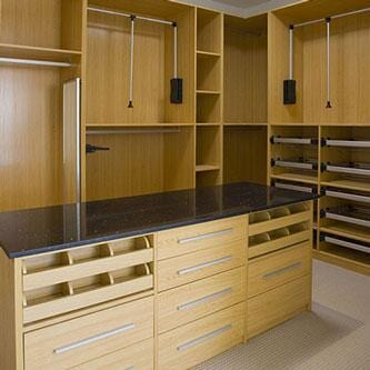 Closet Systems at California Flooring in Manteno, IL