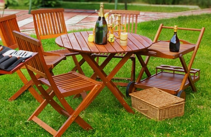 Family friendly patio furniture in Sebring, FL from Griffin's Carpet Mart, Inc