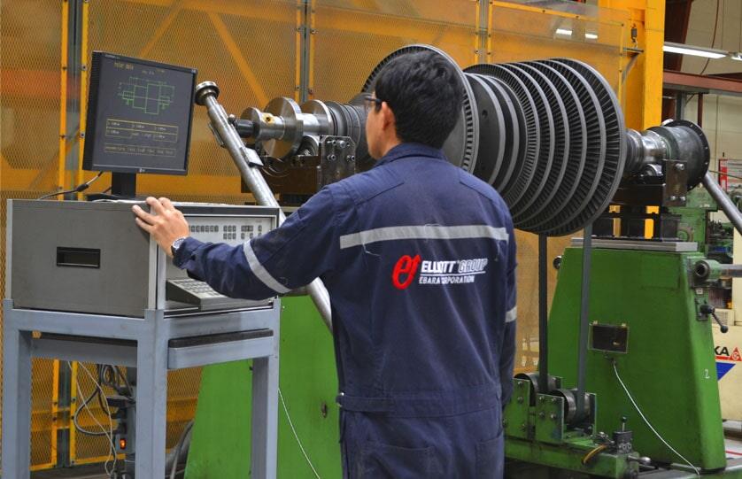 Elliott Turbocharger Guatemala - Balanceo-Dinamico