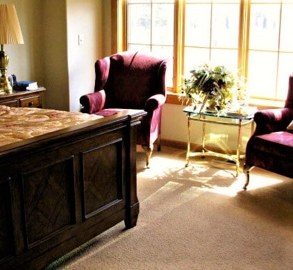 Durable carpet flooring in Roscoe, MT by Covering Broadway
