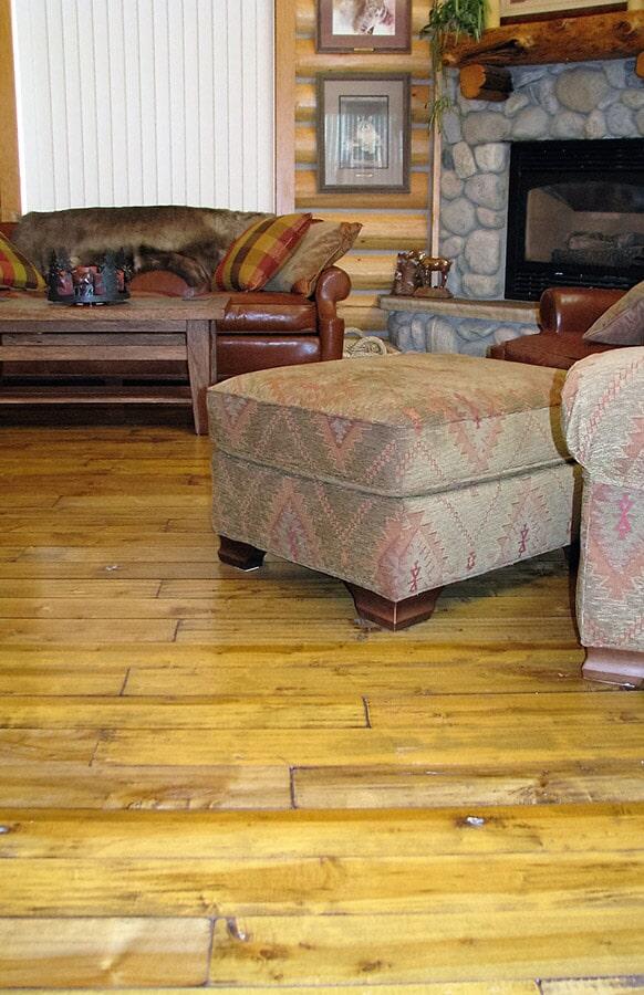 Versatility of hardwood floors in Belfry, MT from Covering Broadway