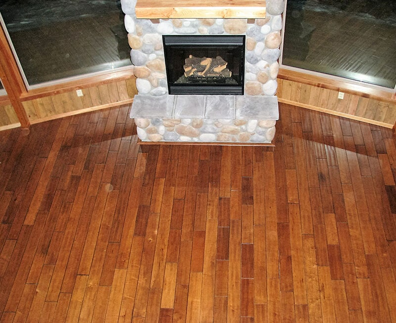 Luxurious hardwood floors in Absarokee, MT from Covering Broadway