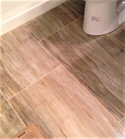 Bathroom tile flooring in Belfry, MT from Covering Broadway