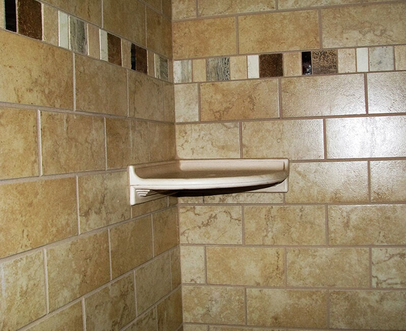 Shower tile installation in Roberts, MT by Covering Broadway