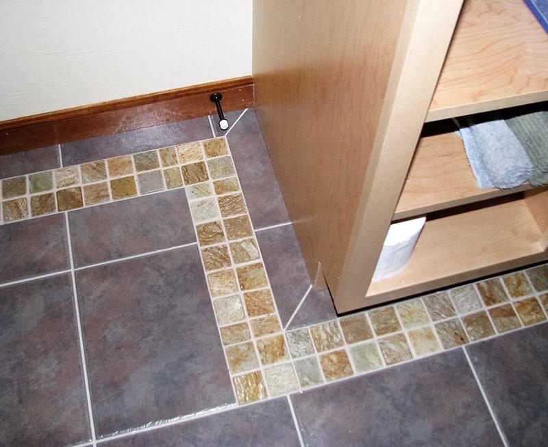 Modern tile flooring options in Bridger, MT from Covering Broadway