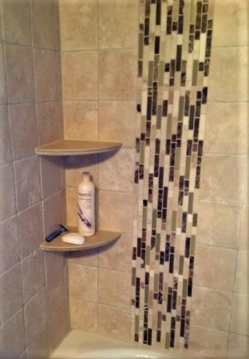 Custom shower tile installation in Roscoe, MT by Covering Broadway