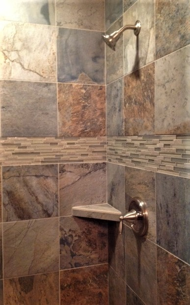 Shower tile ideas in Roscoe, MT from Covering Broadway