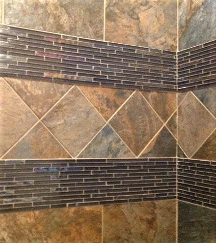 Diamond tile design ideas in Bridger, MT by Covering Broadway
