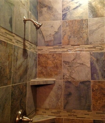 Shower tile ideas in Roberts,  MT from Covering Broadway