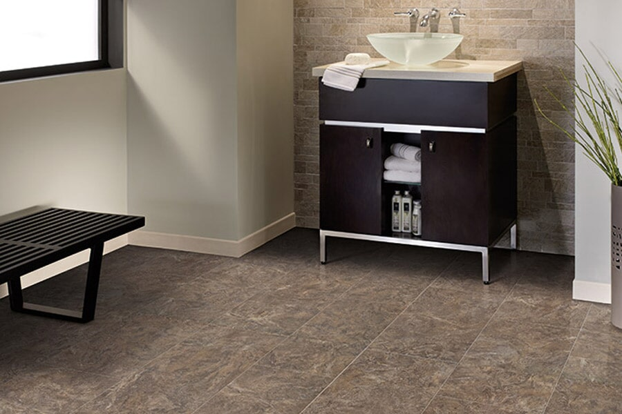 Mannington luxury vinyl tile in Bringer, MT from Covering Broadway