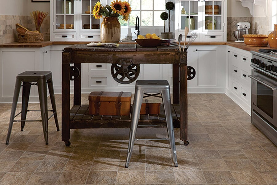 Mannington luxury vinyl tile in Absarokee, MT from Covering Broadway