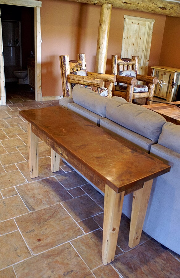Natural stone flooring in Roscoe, MT from Covering Broadway