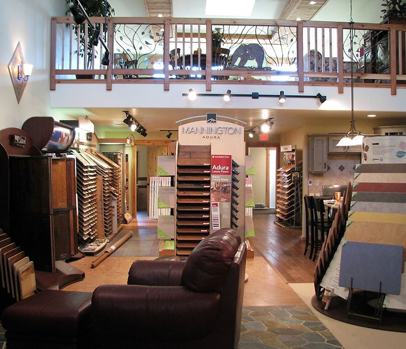 Hardwood flooring in Belfry, MT from Covering Broadway
