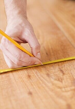 In-Home Measurement near San Francisco, CA at Sean's Quality Floors