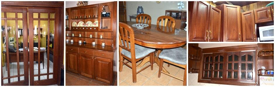 muebles de madera en managua