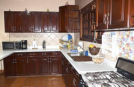 gabinetes de madera para cocina