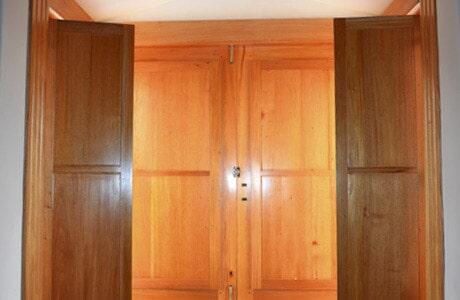 puertas de madera exclusivas