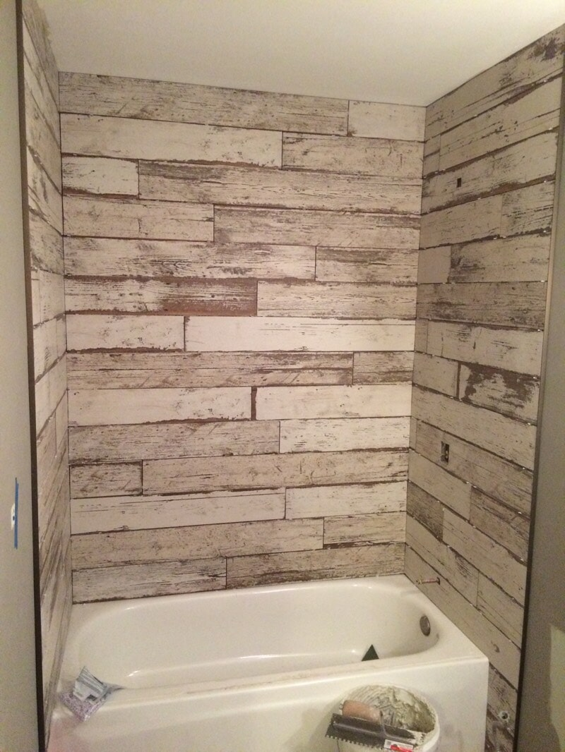 Bathroom tile work by All Surface Flooring servicing Fenton MO