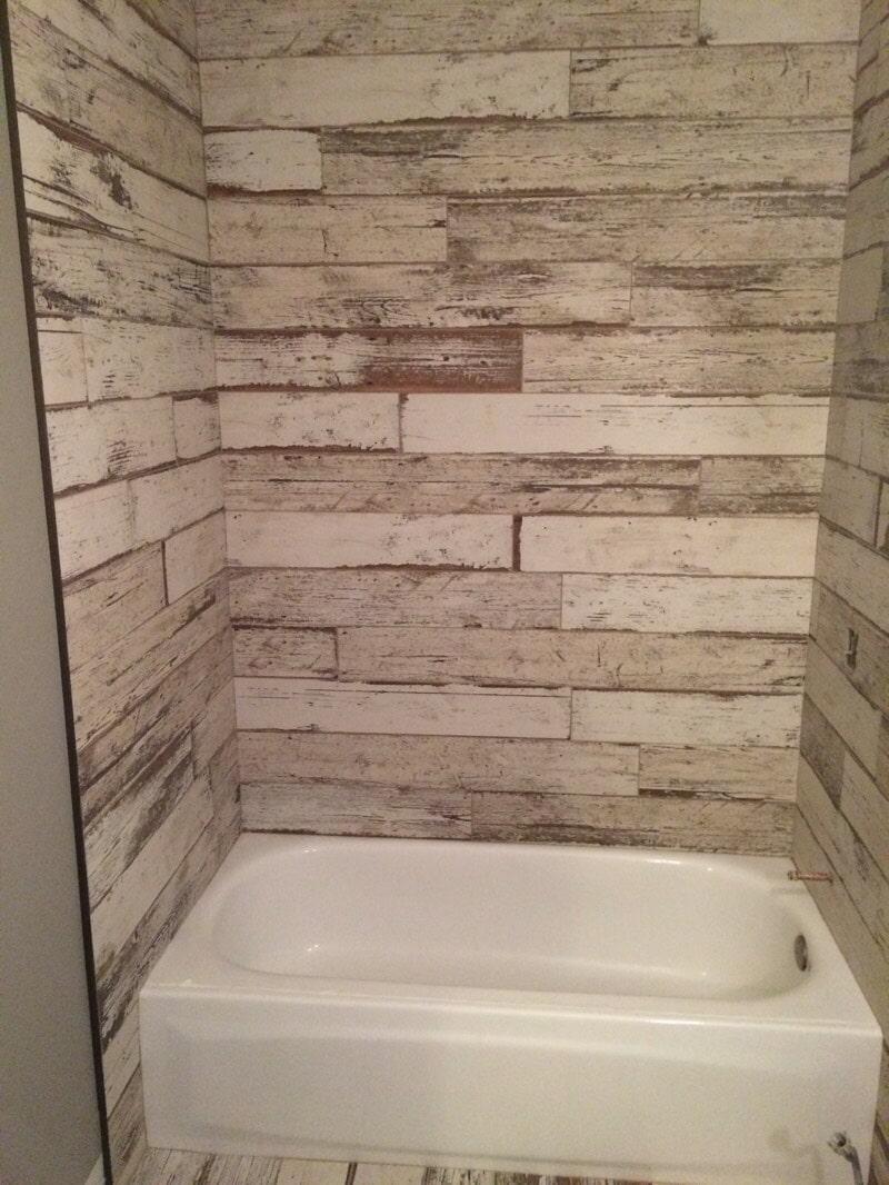 Bathroom tile work by All Surface Flooring servicing Ellisville MO
