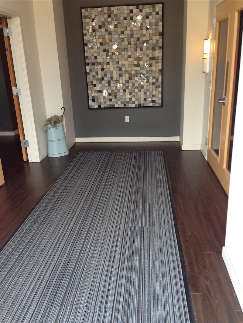 Custom flooring and tile work by All Surface Flooring servicing Ballwin MO