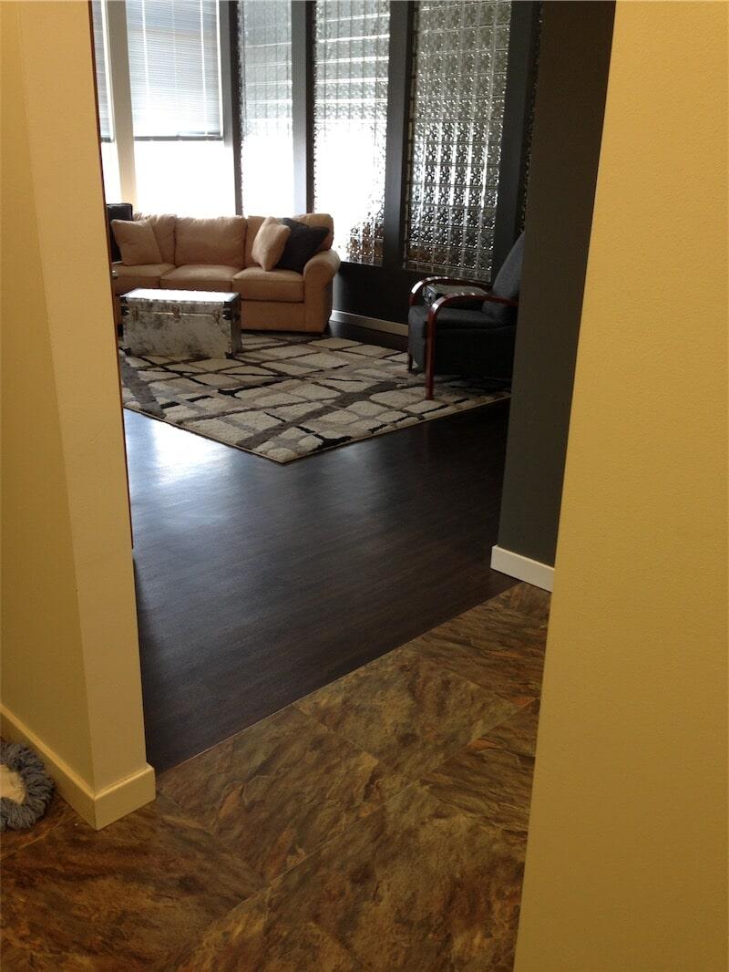 Custom Laminate flooring layouts by All Surface Flooring servicing Fenton MO