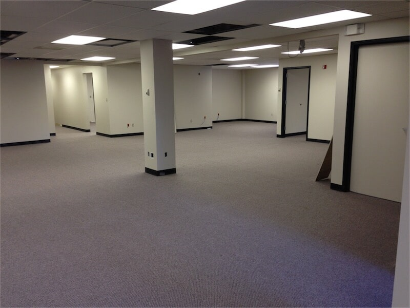Commercial carpet installation by All Surface Flooring servicing Fenton MO