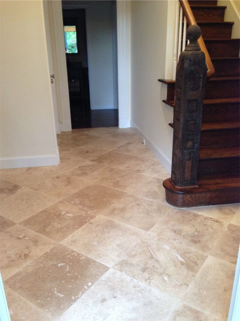 Tile flooring installation by All Surface Flooring servicing Wildwood MO
