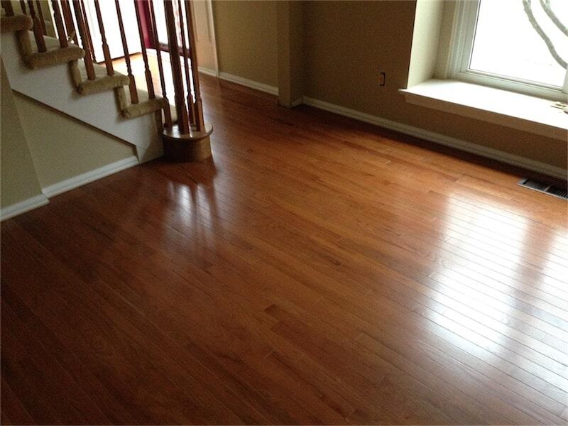 Hardwood flooring installation by All Surface Flooring servicing Fenton MO