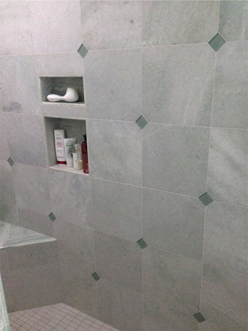 Tile tub surround by All Surface Flooring servicing Ellisville MO