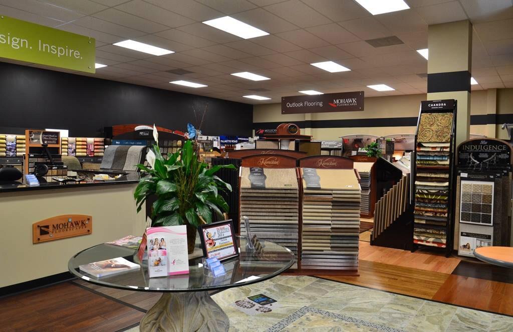Flooring showroom in Rock Hill SC from Outlook Flooring