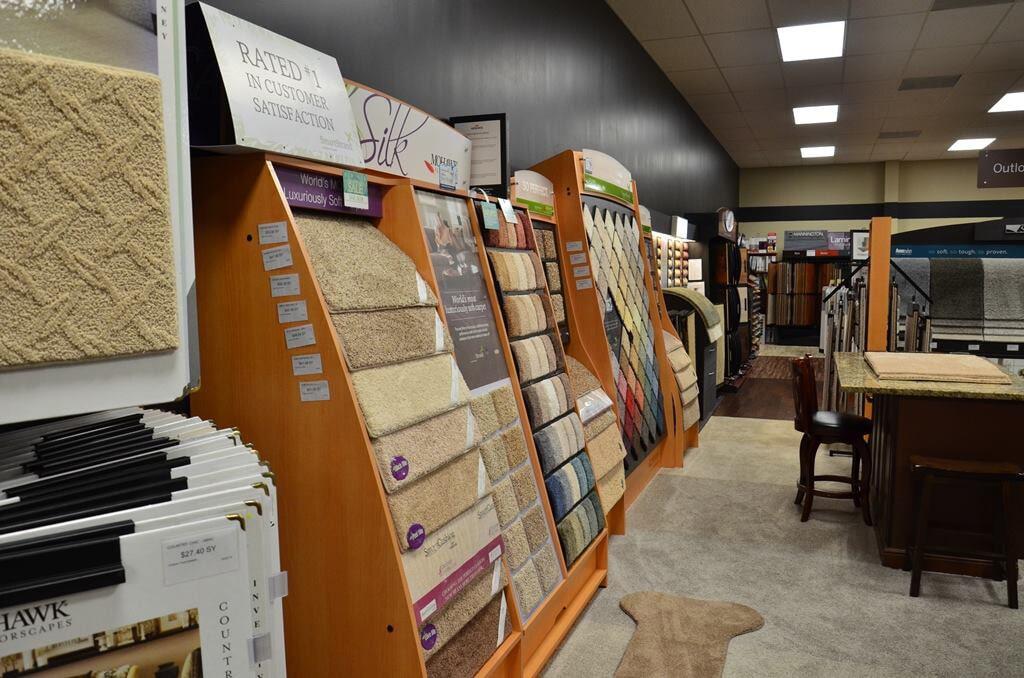 Carpet samples in Monroe NC from Outlook Flooring