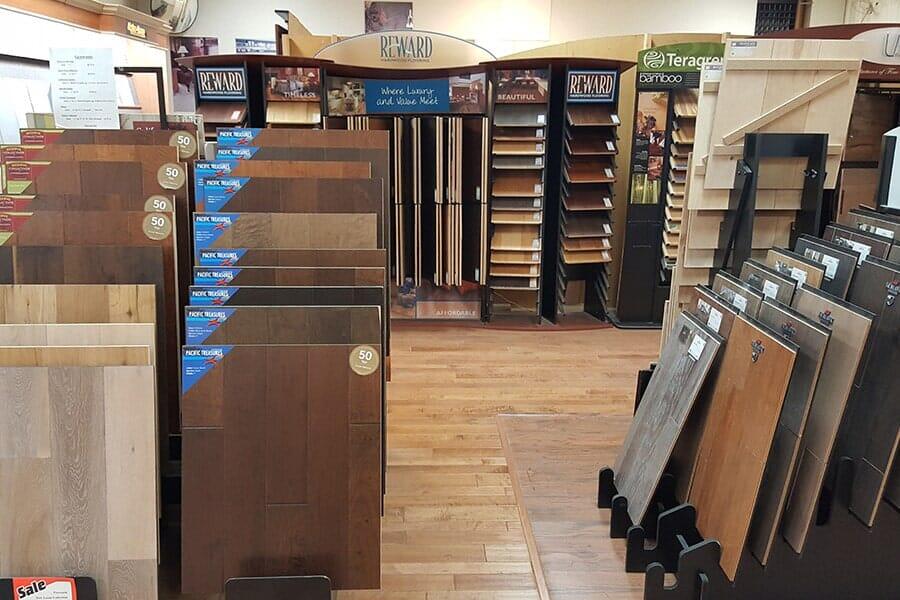 Wood floor store in Antelope Valley CA - Metro Floors