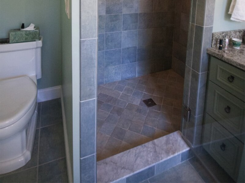 Custom tile shower in Rutland, VT by Abatiello Design Center