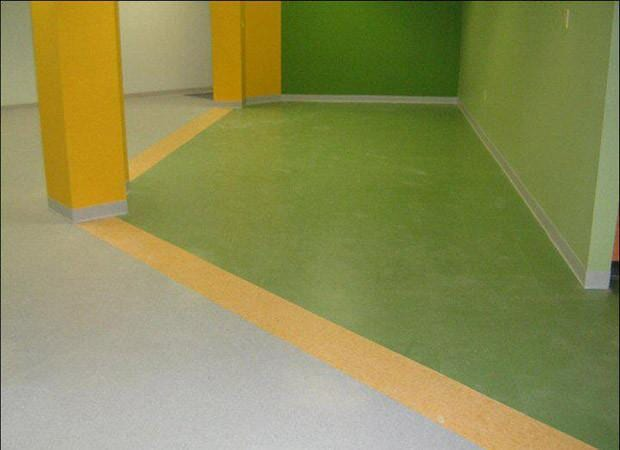 Commercial floor installation near Atlantic Beach FL by About Floors n More