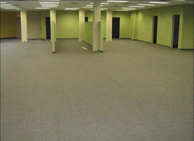 Commercial carpet tiles for the office in the Jacksonville area by About Floors n More