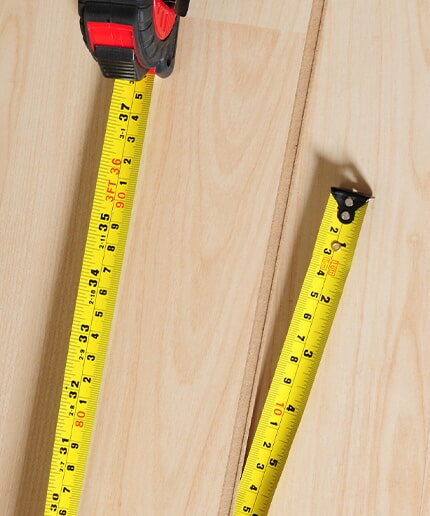 Flooring measurement in Madisonville KY by Legate's Furniture World