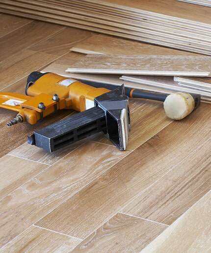Flooring installation in Madisonville KY by Legate's Furniture World