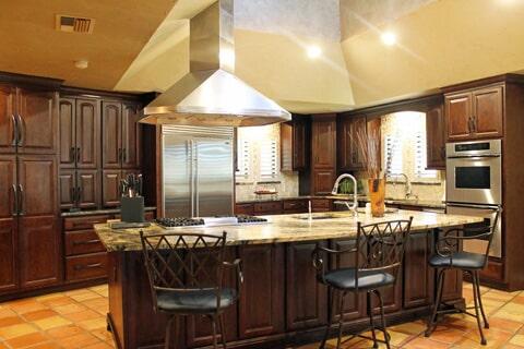 Kitchen Design in Port Aransas TX by Tukasa Creations