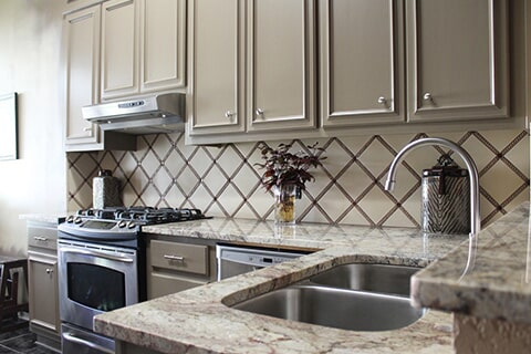 Kitchen Design in Orange Grove TX by Tukasa Creations