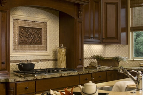 Kitchen Cabinets and Countertops in Orange Grove TX by Tukasa Creations