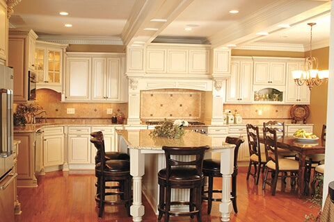 Kitchen Cabinets and Countertops in Portland TX by Tukasa Creations