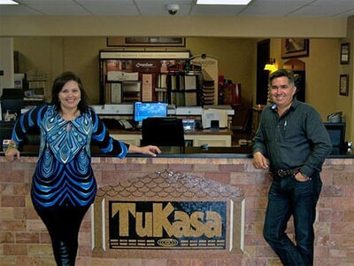 The Flooring and Design Showroom of Tukasa Creations near Corpus Christi TX